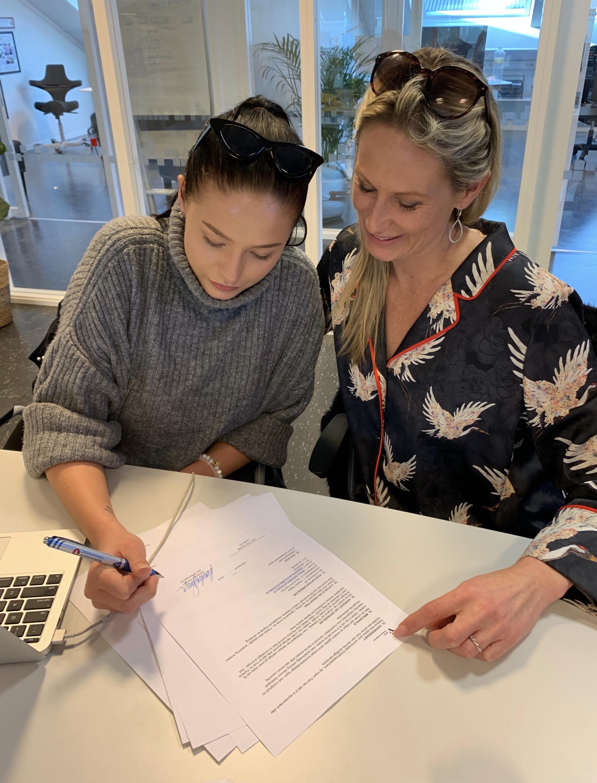 Kundene til Sky of Norway tripper for å komme i gang